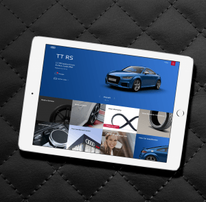 Audi Owners Dashboard iPad