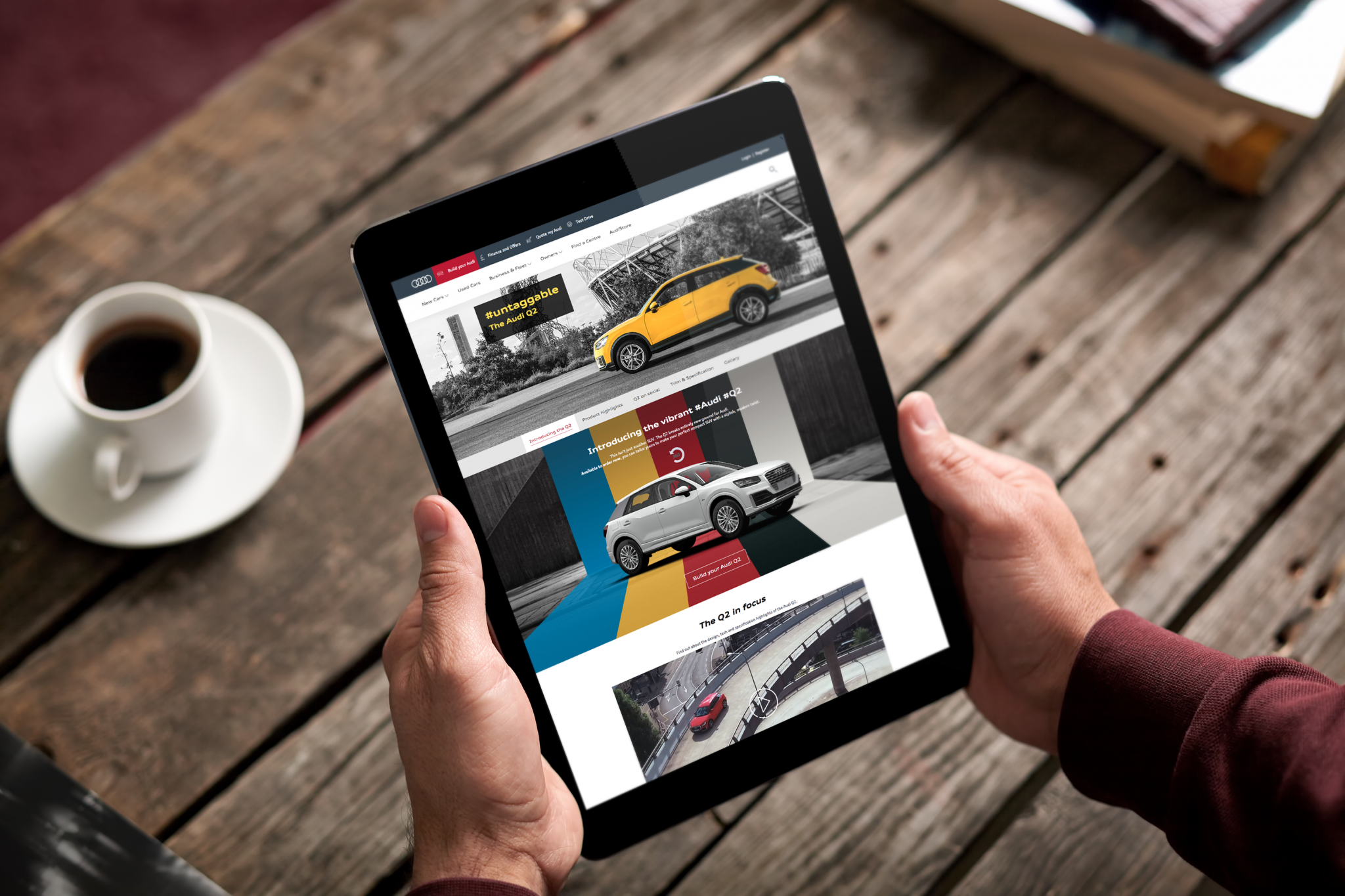 Audi Q2 Model Page