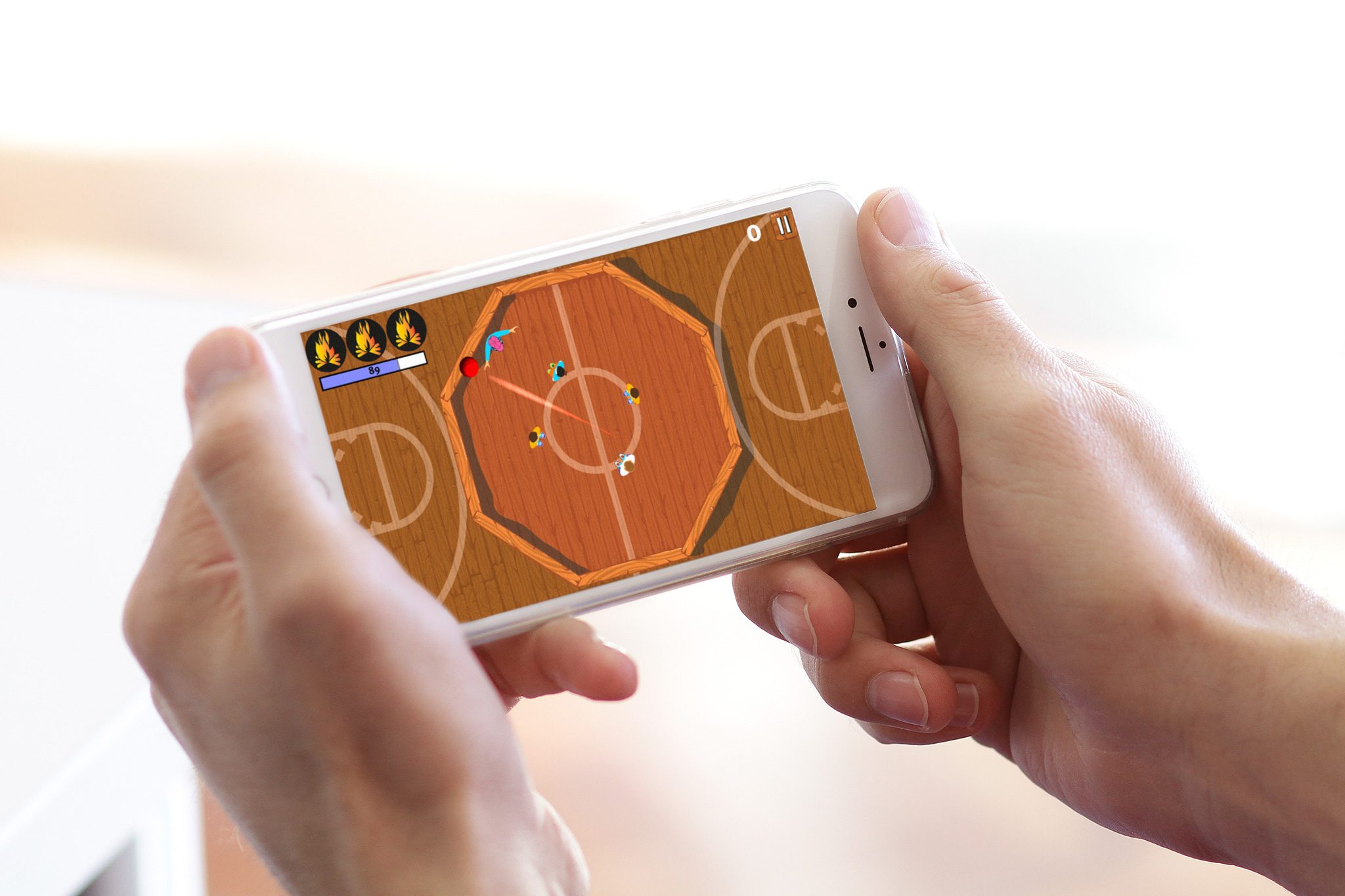 Gaga Champ App Basketball Level