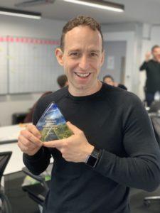 David Morris Award at Centrica